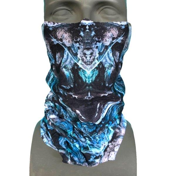 AVALON7 SpiritTree Snowboard Facemask blue