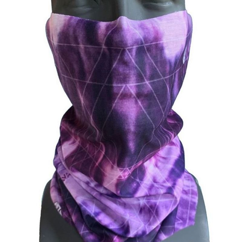 Our new Trancendent Tiedye Neck Tube design will help you  keep warm and toasty on these chilly fall mornings. #AVALON7 #LiveActivated #snowboarding #skiing #hiking #flyfishing #facemasks www.avalon7.com