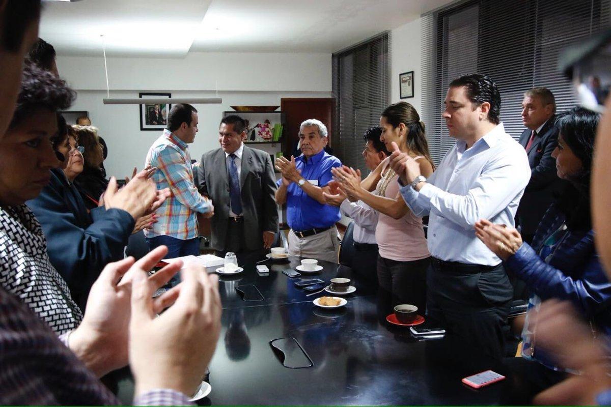 El alcalde Cuauhtémoc Blanco Bravo nombró como nuevo secretario del Ayuntamiento a Samuel Sotelo Salgado