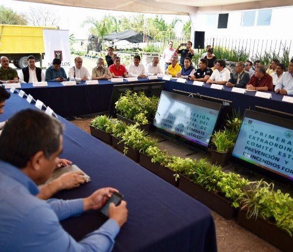 Sesión Extraordinaria del Comité Estatal de Prevención y Combate de Incendios Forestales