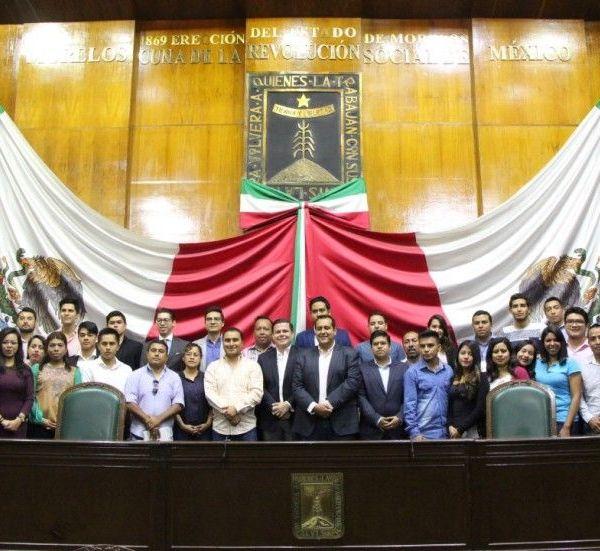 presidente de la Comisión de la Juventud en el Congreso Local
