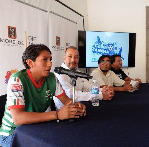 Daniel Copto, presidente de Street Soccer México