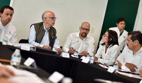 la reunión de Análisis de Daños y Acciones de Salud llevadas a cabo en Morelos a partir del sismo
