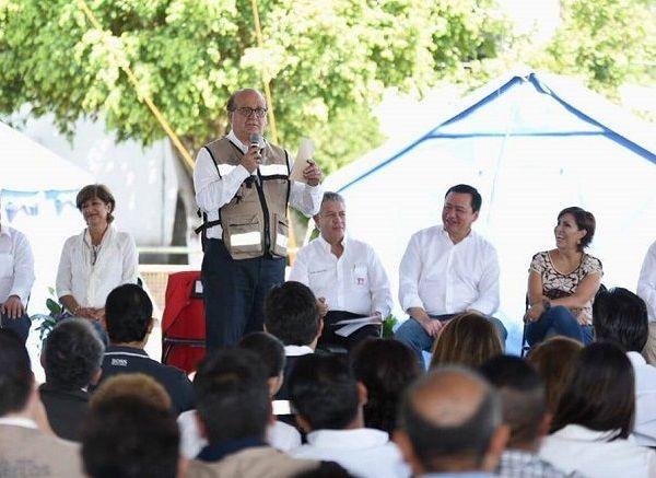 el secretario de Gobernación, Miguel Ángel Osorio Chong