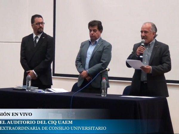 Gustavo Urquiza Beltrán nuevo rector de la Universidad Autónoma del Estado de Morelos (UAEM)
