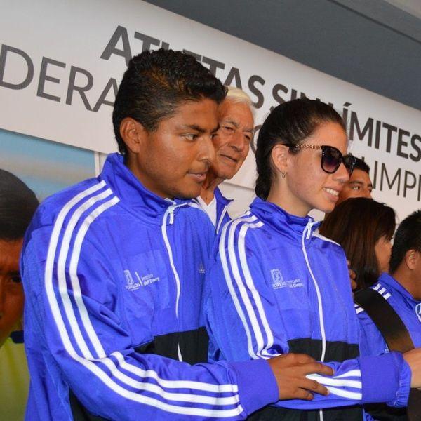 Mariángel Martínez Maximiliano, de la disciplina de Atletismo de la modalidad de ciegos y débiles visuales