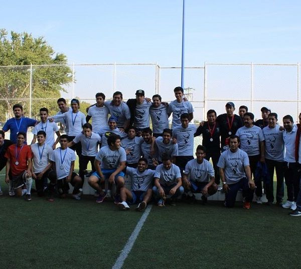 Se jugaron los partidos finales correspondientes a la disciplina del futbol con bardas en las ramas femenil y varonil