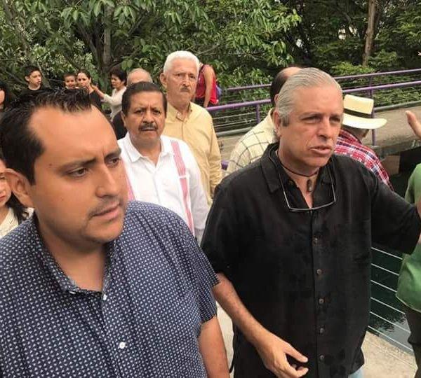el Consejo Cívico Ciudadano se le acercó para trabajar juntos por el rescate del Parque