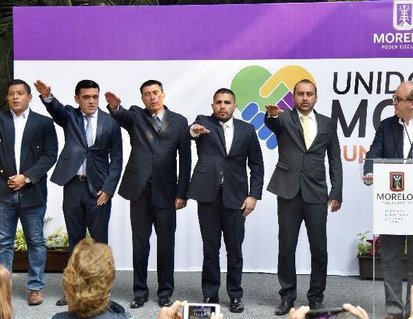 Carlos Benítez Urióstegui como subsecretario de Gobierno y Leonel Portillo Ayala como subsecretario de Atención Social