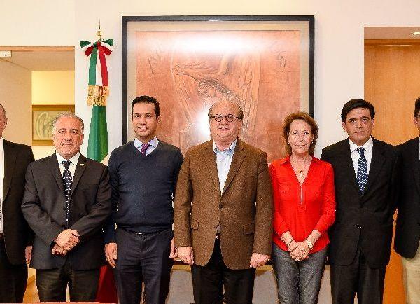 la intervención de gobernador de Morelos, Graco Ramírez, ante el director general del IMSS