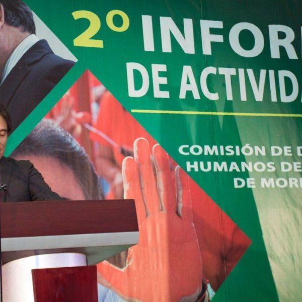 el presidente de la Comisión de Derechos Humanos, Jorge Arturo Olivares Brito, urgió al Poder Legislativo a atender la petición de ampliación presupuestal que mantiene a la CDHMorelos