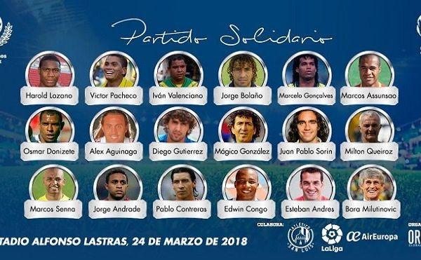 organizado por Origen Wold Wide, que se celebrará en el Estadio Alfonso Lastras de San Luis Potosí en beneficio de la Fundación Scholas y los damnificados por el sismo