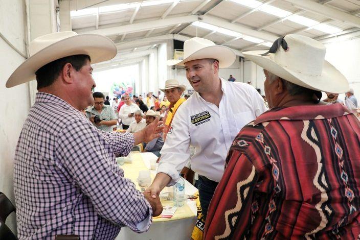 Subrayó que buscará tecnificar y modernizar técnicas de cultivo, generará más canales de venta, y ampliará la distribución de los productos morelenses para exportar la flor cultivada en Morelos