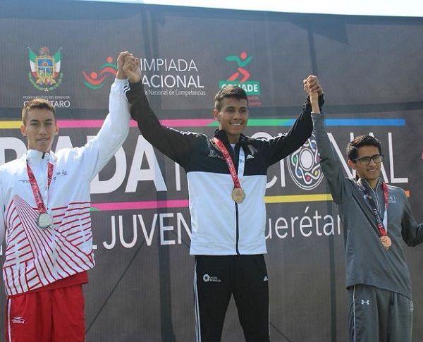 Avilés Ferreiro nuevamente entró bastante motivado a la pista en Querétaro con la mentalidad y la concentración a su máxima capacidad de repetir la actuación del año pasado, como ya nos está acostumbrando con su característica de subir al podio