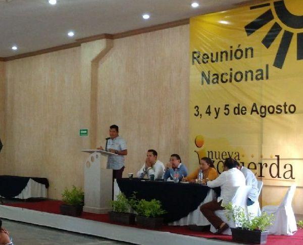 El dirigente en la entidad del Sol Azteca, Matías Quiroz Medina, dio la bienvenida a todas las corrientes nacionales del partido que ven al estado como un espacio para la reflexión y el intercambio de opiniones que permitan el crecimiento de dicho instituto
