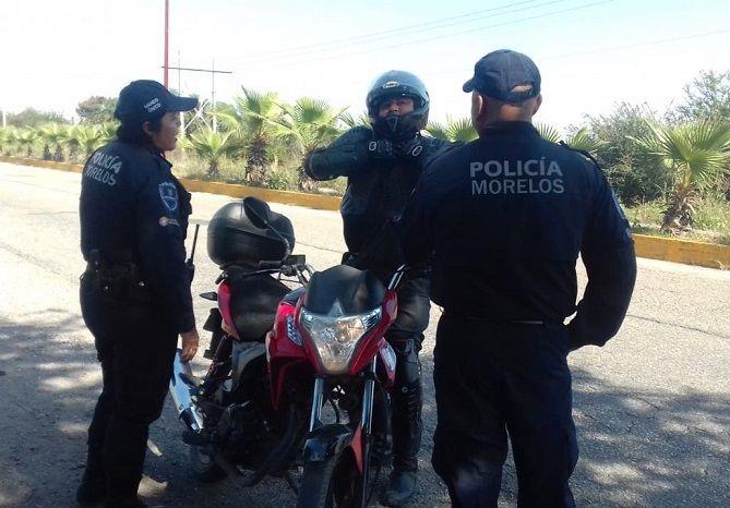 Dicho operativo fue acordado por el Grupo de Coordinación Morelos ante el aumento de los delitos de fueron común y federal cometido por personas a bordo de motocicletas y motonetas en contra de la población