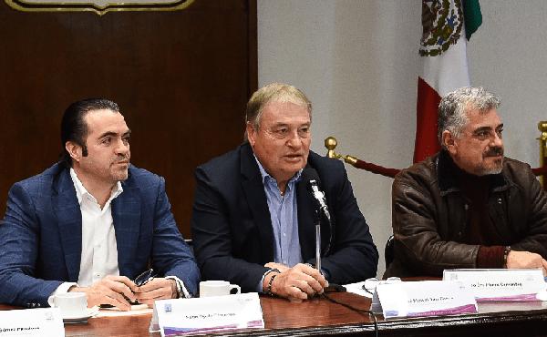 El jefe de la Oficina de la Gubernatura, José Manuel Sanz Rivera, indicó que la administración estatal ha acompañado a la Máxima Casa de Estudios en las gestiones que realiza ante la federación