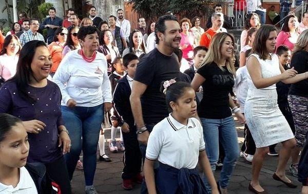 La Secretaría Bienestar Social, Cinthya Mariselma Pérez Suero, explicó que el objetivo del evento es echar abajo todo lo negativo que atente contra las mujeres y evitar la violencia ellas