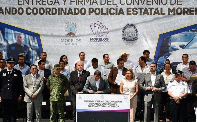 El mandatario reconoció la voluntad mostrada para alcanzar este acuerdo que fortalecerá las acciones de seguridad implementadas en la entidad