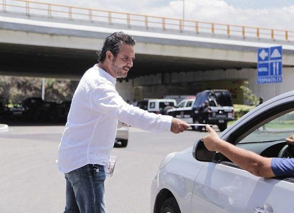 """Afirmó que """"el Gobierno de Cuernavaca no está cruzado de brazos, trabajamos de manera coordinada con los diferentes órdenes de gobierno para garantizar la seguridad de los ciudadanos"""""""