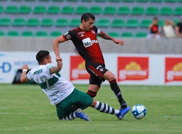 En la primera parte los Cañeros fueron dominados por los Rojinegros del Atlas, pero en la complementaria cambio radicalmente el partido, porque los morelenses se apoderaron del balón para lograr la victoria en esta su presentación en la Copa MX