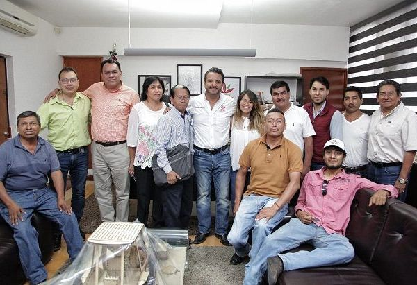 En el encuentro, el alcalde capitalino dijo que tiene bien definida y clara su estrategia de gobierno, y esta es a favor de Cuernavaca