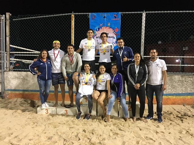 Disciplinas deportivas como, el futbol con bardas, el basquetbol, tiro con arco, voleibol de playa, judo, entre otros más deportes en las que se estuvo participando por largos días en las instalaciones deportivas de los Polideportivos de la UAEM