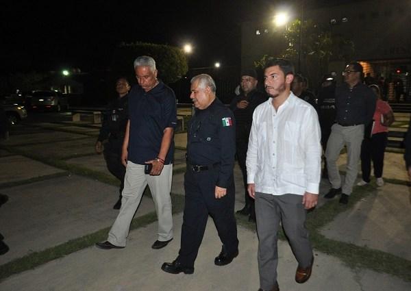 El visitador de la CDH hizo un recorrido donde confirmó la situación de calma, luego de las versiones que surgieron en redes sociales sobre un presunto altercado