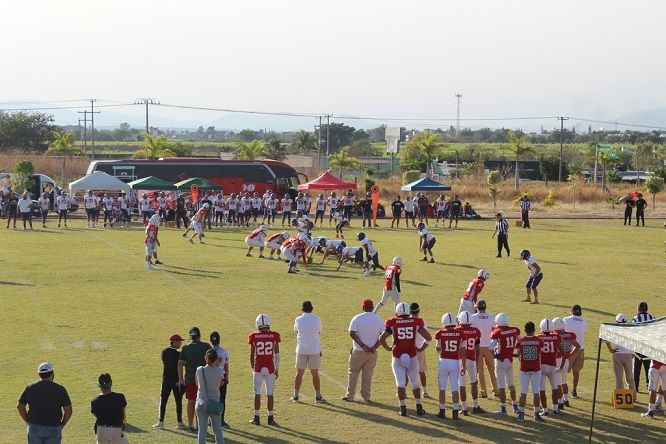 Los anfitriones no pudieron aprovechar la localía para alcanzar su primera victoria al jugarse la segunda jornada de la Temporada Juvenil de Futbol Americano de la CONADEIP 2020, juego que se efectuó en el emparrillado El Deshuesadero, de la zona oriente de Morelos