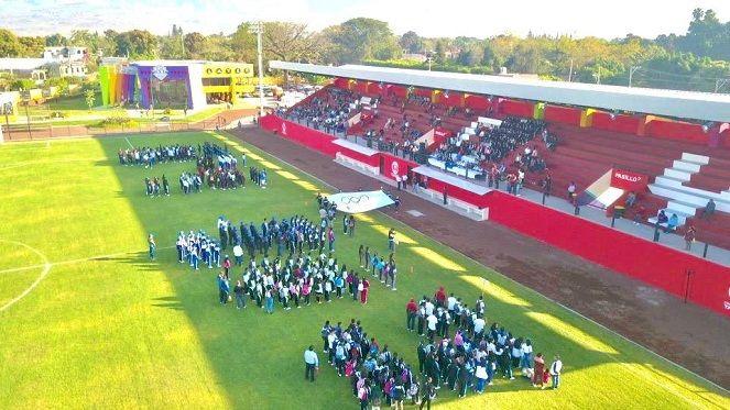 En la inauguración de los Juegos Deportivos de Escuelas Secundarias en la etapa estatal, estuvo presente Agustín Alonso Gutiérrez, presidente de Yautepec, quien se dijo satisfecho y orgulloso de que las nuevas instalaciones sean utilizadas por los niños, adolescentes, jóvenes y los adultos