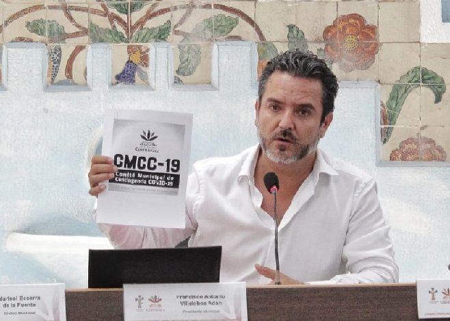 Propone alcalde capitalino a integrantes del Cabildo y a cuernavacenses seguir el Plan de Contingencia Municipal