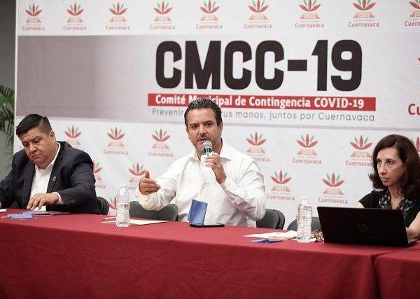 """Durante una reunión con empresarios, en el marco de la sesión del Comité Municipal de Contingencia Covid-19, manifestó """"la pandemia del Coronavirus nos está poniendo a prueba, puesto que no tenemos antecedentes de una situación similar"""""""