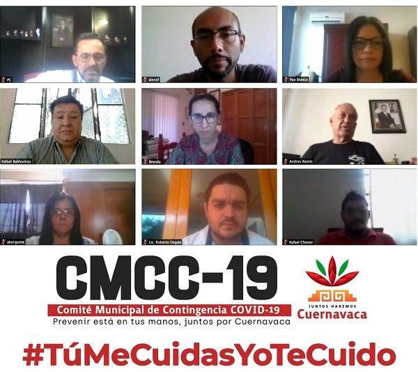 Así lo expresaron los miembros del Comité Municipal de Contingencia Covid-19 (CMCC-19) durante la sesión virtual de este martes donde se dio seguimiento a las acciones que ha instruido el alcalde Antonio Villalobos Adán