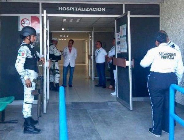 Serán mil 600 elementos de la Guardia Nacional los que participarán en la vigilancia de los hospitales del IMSS