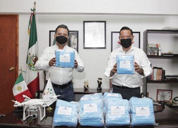 El director general de Conaseg, Aristóteles Aurelio Martínez Mondragón, dijo que la suya es una empresa cuernavacense y socialmente responsable, dedicada al sector de seguridad personal e institucional y en gestión de riesgo