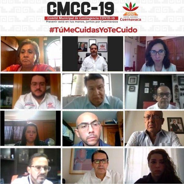 Este encuentro se da a horas de su nombramiento, en donde Julita Veites agradeció la invitación del alcalde de Cuernavaca para concretar esta reunión y solicitó participar en las sesiones del CMCC-19 con la intención de conocer a detalle las acciones que están llevando a cabo para la capital del estado de Morelos