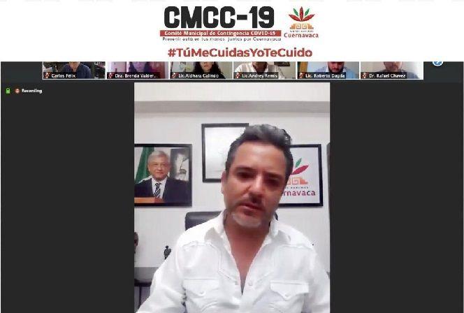 El alcalde Antonio Villalobos señala que en el momento más álgido de la pandemia se deben acatar las medidas impuestas y respetar a las autoridades