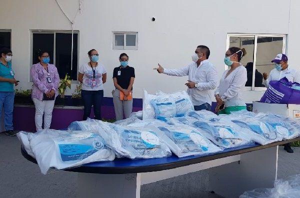 Sotelo Martínez manifestó su reconocimiento a los trabajadores de la salud y lamentó que algunos hayan fallecido a causa de esta pandemia por el Covid-19, por lo que apuntó que es impostergable fortalecer las unidades de salud