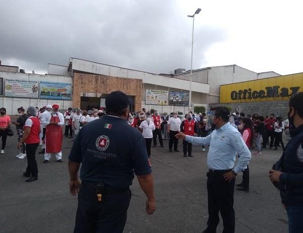 Cabe señalar que siendo las 10:29 horas de este martes se presentó un sismo de magnitud 7.5 a 23 kilómetros al sur de la localidad de Crucecita en el estado de Oaxaca, esto de acuerdo con la información emitida por el Servicio Sismológico Nacional