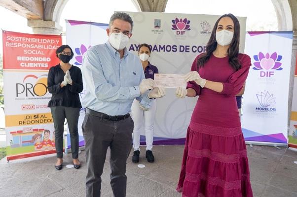 Se logró recaudar más de 300 mil pesos que irán dirigidos para el reequipamiento de las Casas de Día en los municipios de Jonacatepec y Jantetelco