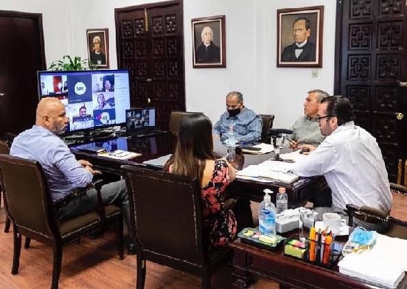 Entre dichos proyectos, está la conclusión de la reconstrucción del edificio principal de la Universidad Autónoma del Estado de Morelos (UAEM), la restauración del Palacio de Cortés, así como la regularización de los predios de Patios de la Estación