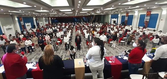El plan de trabajo aprobado por la asamblea estableció que el 2021 será la puerta del triunfo para la gubernatura