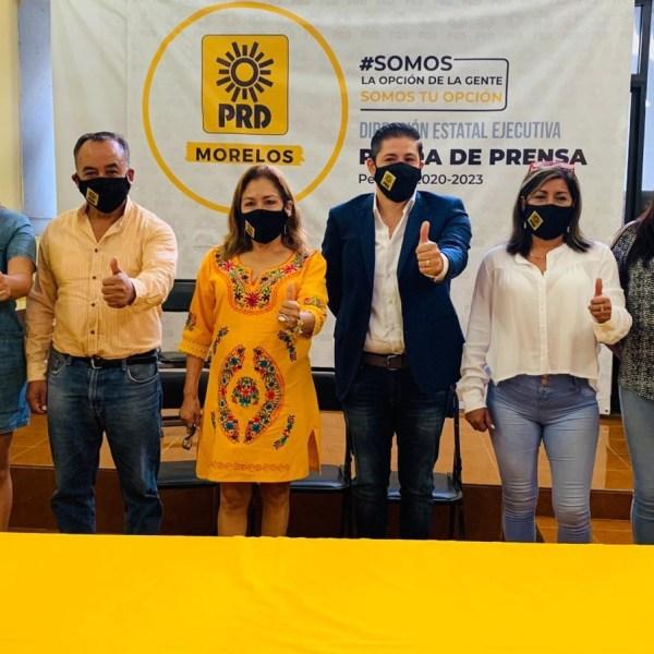 Cristina Balderas Aragón, dirigente Estatal del PRD Morelos, tras expresar el respeto de su partido a las decisiones de las y los legisladores, resaltó que la actual legislatura es la que tiene en porcentaje el mayor número de mujeres