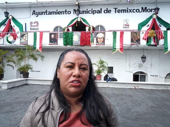 Jazmín Solano López, presidenta municipal de Temixco