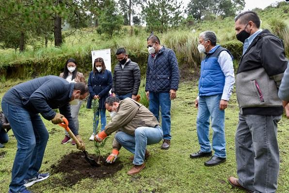El mandatario mencionó que para Morelos el cuidado y preservación de los bosques y selvas es fundamental, por lo que agradeció a quienes participaron en esta cruzada que hoy finaliza