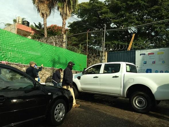 el fiscal Anticorrupción, Juan Salazar Núñez, rechazó categóricamente los señalamientos hechos en contra de la Fiscalía a su cargo por parte de la encargada de despacho de la ESAF, América López Rodríguez, sobre la ejecución del cateo