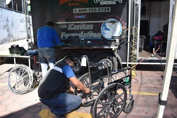 En 2020 la administración municipal ha entregado 513 aparatos de movilidad asistida