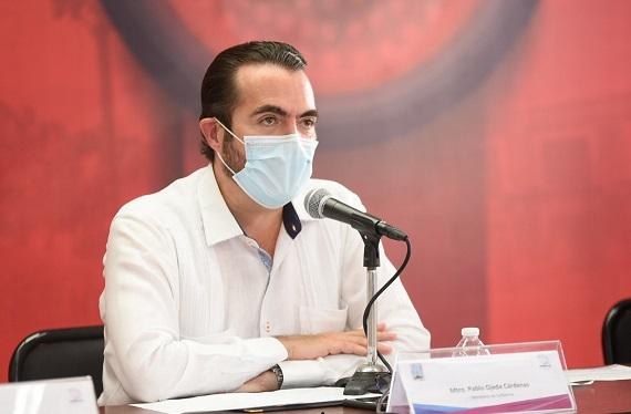 Aclaró que en Morelos no se están enviando pacientes a otras entidades, por el contrario, se han recibido a pacientes de otros estados para que sean atendidos