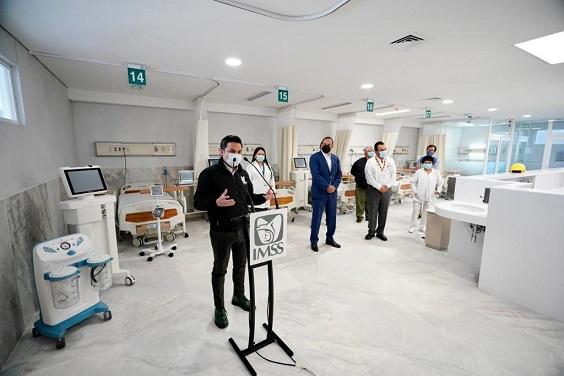 El Instituto Mexicano del Seguro Social (IMSS) y el gobierno de Morelos anunciaron que el próximo sábado entrará en operación el Área COVID del Hospital General de Zona con Medicina Familiar (HGZ/MF) No. 7 en Cuautla, con 30 camas para atender a convalecientes de esta enfermedad.