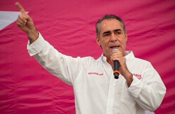 Gerardo Islas definió a Sergio Estrada Cajigal como la punta de lanza que permitirá a Fuerza por México ganar en Morelos, presidencias municipales como la de Cuernavaca, diputaciones locales y federales.